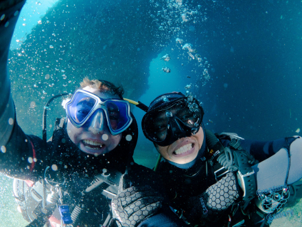 Diving at Wooli (Pimpenal Rock)