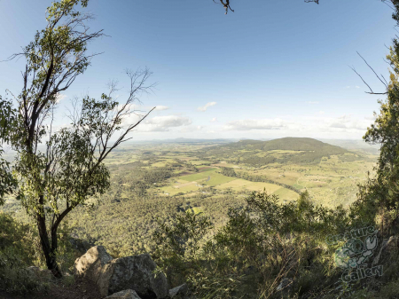 The view from the summit of Mount Edwards